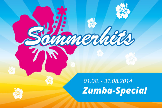 Zumba-Special 01. August - 31. August 2014
